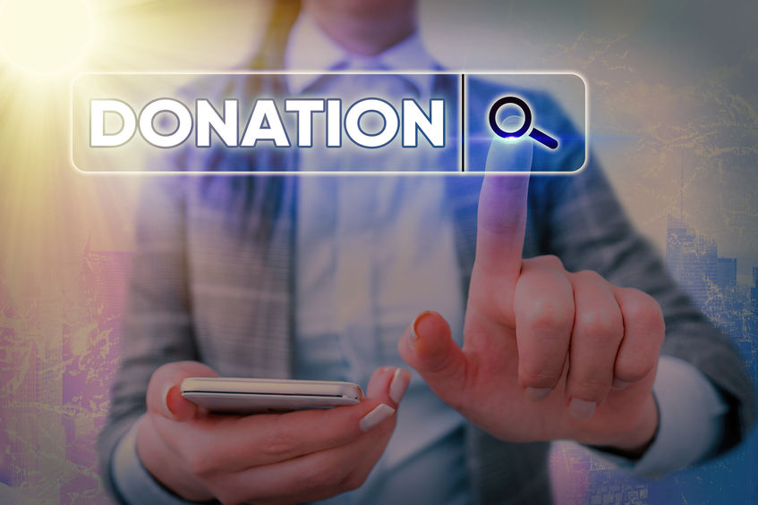 online donations increased