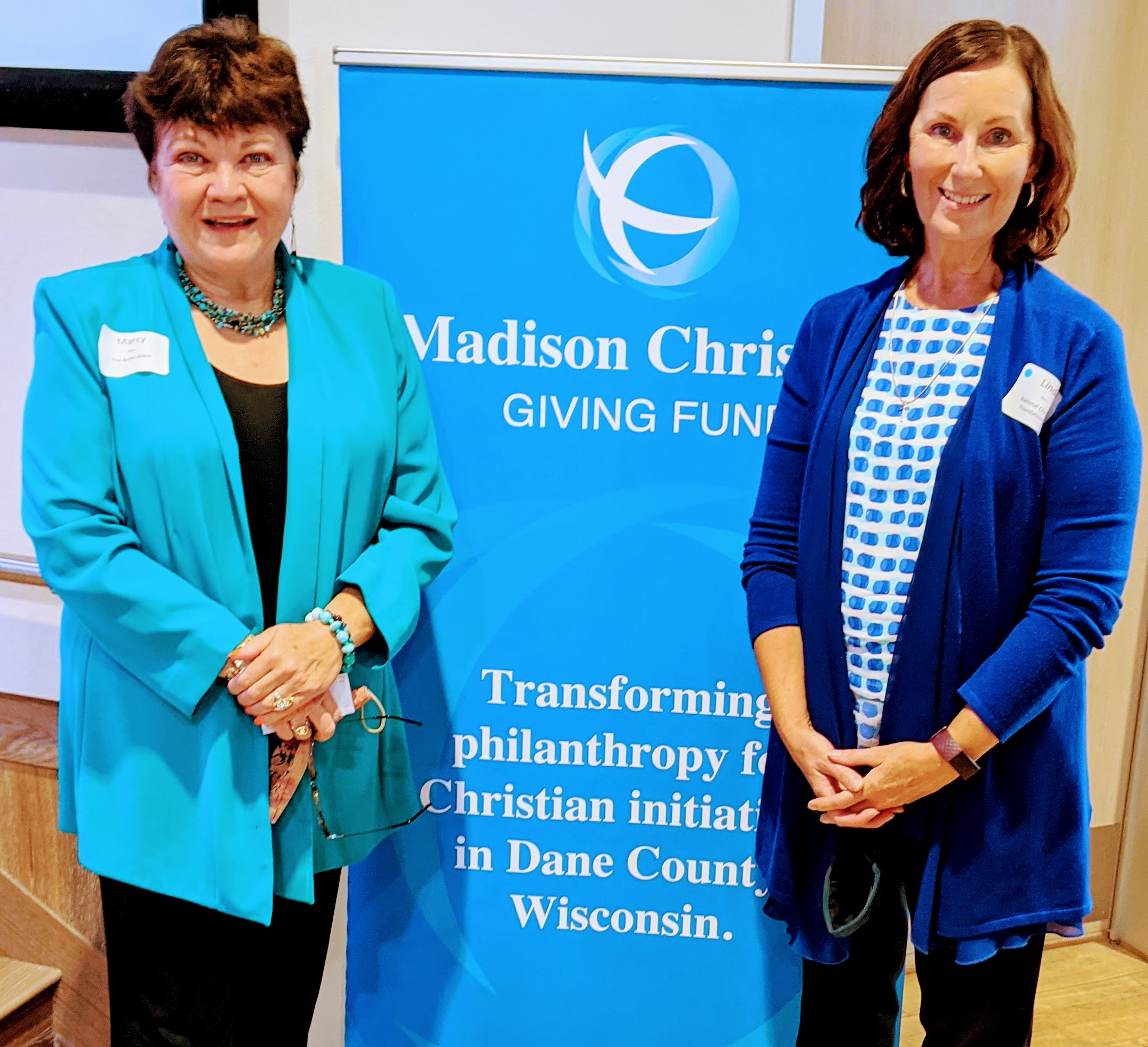 Marcy & Linda -Madison Christian Giving Council